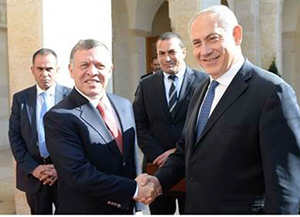Netanyahu Holds Secret Meeting with Abdullah over Temple Mount